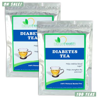 2x Diabetes Teas by Dr. Gosh