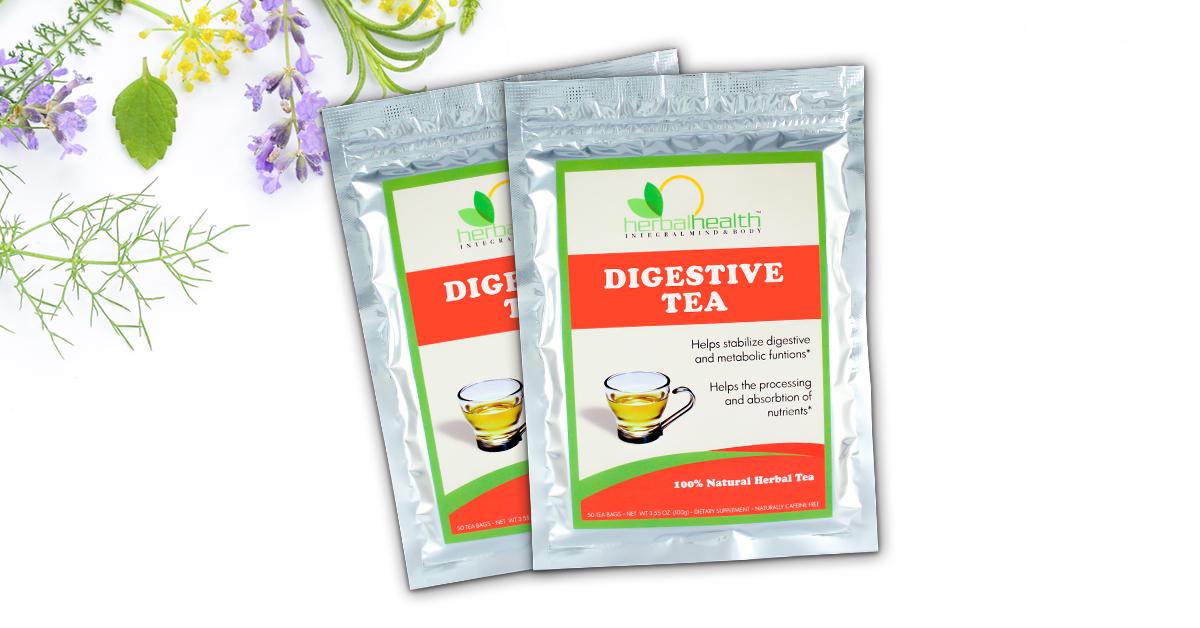 2x Digestive Teas™   Dr. Gosh