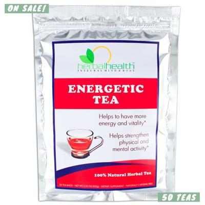 Energetic Tea by Dr. Gosh